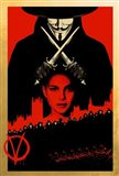 V for Vendetta Black and Red