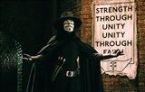 V for Vendetta Sign Horizontal