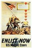 Vintage Iwo Jima Enlist Now