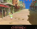 Spirited Away (French Title) - empty town