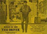 Taxi Driver Yellow Horizontal