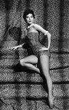 Ava Gardner In Leopard Print Bathing Suit