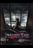 Sweeney Todd Johnny Depp overlooking London
