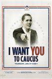 Barack Obama -  (Iowa Caucus) Campaign Poster