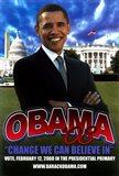 Barack Obama - (Primary) Campaign Poster