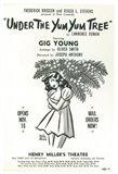 Under The Yum Yum Tree (Broadway)