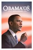 Barack Obama - (Speech) Campaign Poster
