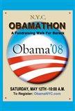 Barack Obama - (Obamathon) Campaign Poster