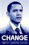 Barack Obama - (Change) Campaign Poster