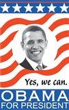 Barack Obama - (Obama for President) Campaign Poster