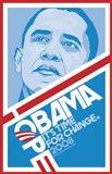 Barack Obama - (Hope, Blue) Campaign Poster
