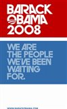 Barack Obama - (Red, White and Blue) Campaign Poster