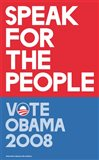 Barack Obama - (Speak for People-red) Campaign Poster
