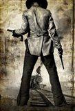 3:10 to Yuma Sepia Cowboy