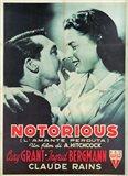 Notorious Cary Grant Ingrid Bergmann