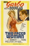Two-Faced Woman Yellow Border