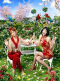 Pushing Daisies Lily and Vivian Lawn Chairs