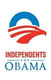 Barack Obama - (Independents for Obama) Campaign Poster