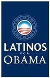 Barack Obama - (Latinos for Obama) Campaign Poster