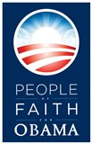 Barack Obama - (People of Faith for Obama) Campaign Poster