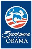 Barack Obama - (Sportsmen for Obama) Campaign Poster
