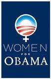 Barack Obama - (Women for Obama) Campaign Poster