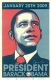 Barack Obama - 2009 Inaugural Gallery Print - Matte Finish