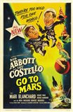 Abbott and Costello Go to Mars, c.1953
