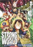 One Piece Film: Strong World - characters posed