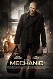 The Mechanic - man walking with a black bag
