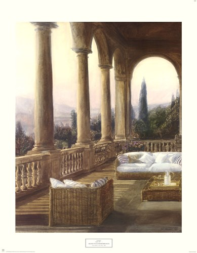 Arched Tuscan Remembrances Poster by Piet Bekaert for $40.00 CAD