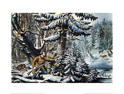 American Winter Sports Poster by Currier and Ives for $25.00 CAD