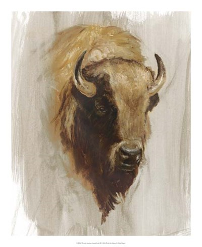 Western American Animal Study III Poster by Ethan Harper for $50.00 CAD