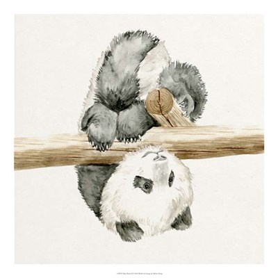 Baby Panda II Poster by Melissa Wang for $50.00 CAD