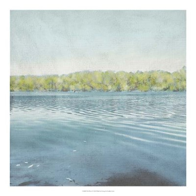 Flat Water I Poster by Chariklia Zarris for $50.00 CAD