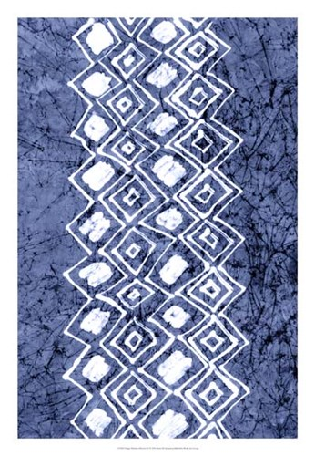 Indigo Primitive Patterns IV Poster by Renee Stramel for $56.25 CAD