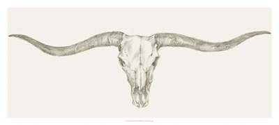 Western Skull Mount III Poster by Ethan Harper for $81.25 CAD