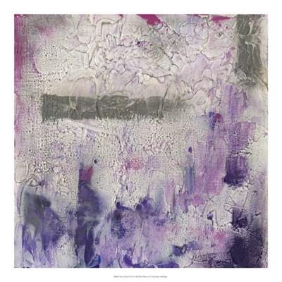 Dusty Violet I Poster by Jennifer Goldberger for $50.00 CAD