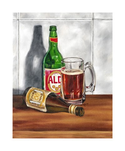 A Cold One I Poster by Jennifer Goldberger for $135.00 CAD