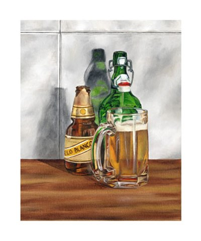 A Cold One II Poster by Jennifer Goldberger for $135.00 CAD