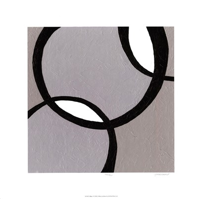 Ellipse I Poster by Julie Holland for $97.50 CAD