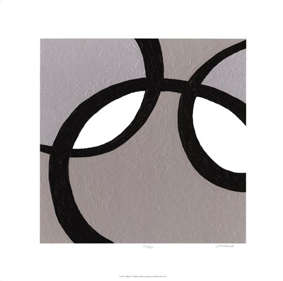 Ellipse IV Poster by Julie Holland for $97.50 CAD