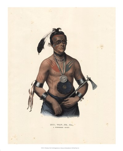 A Winnebago Chief Poster by Mckenny & Hall for $52.50 CAD