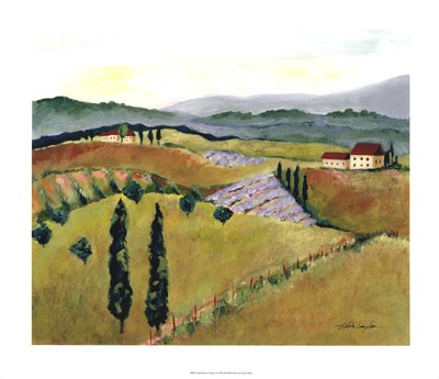 Daydreams in Tuscany I Poster by Kris Taylor for $135.00 CAD