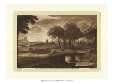 Pastoral Landscape IV Poster by F. Lorraine for $15.00 CAD