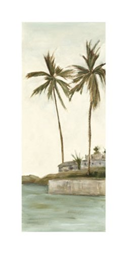 Trish's Palms I Poster by Chariklia Zarris for $97.50 CAD