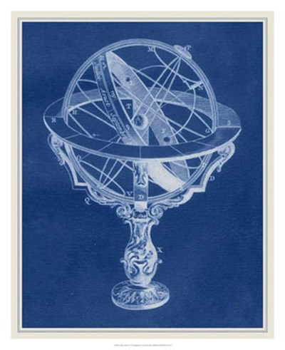 Armillary Sphere II Poster by Vision Studio for $106.25 CAD
