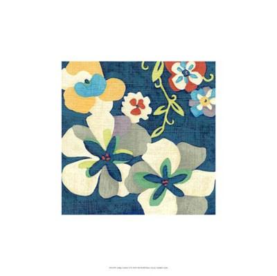 Indigo Garden VI Poster by Chariklia Zarris for $31.25 CAD