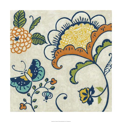Joyous Garden II Poster by Chariklia Zarris for $93.75 CAD