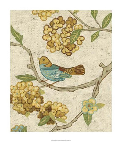Antique Aviary II Poster by Chariklia Zarris for $112.50 CAD